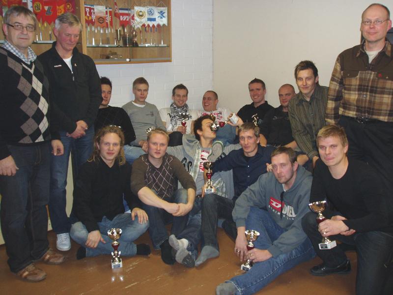 Edustusjoukkueen päättäjäiset 2009